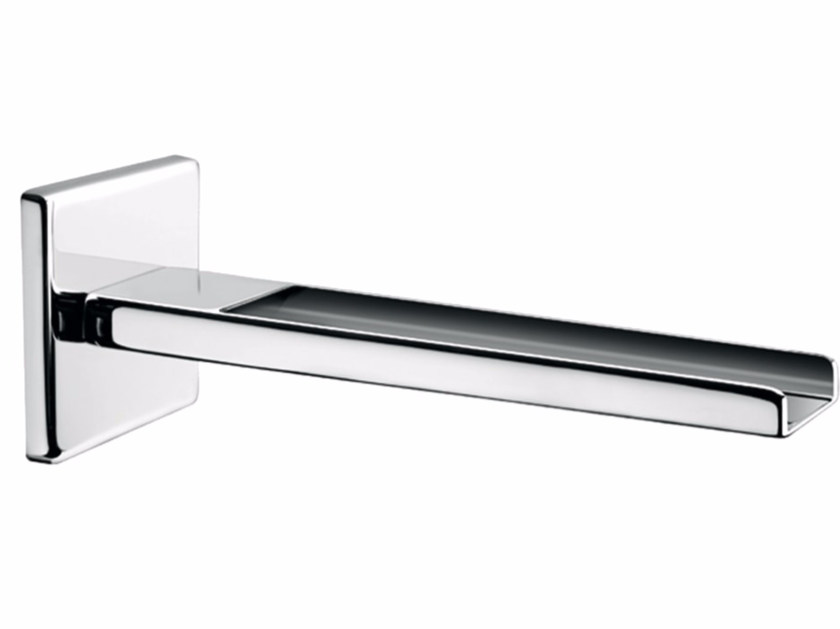 Chrome-plated wall-mounted waterfall spout PLAYONE 85 - 8546302 by Fir Italia