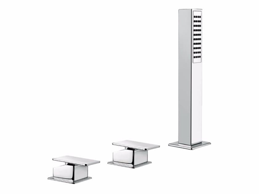 3 hole bathtub set with hand shower PLAYONE 85 - 8548082 by Fir Italia