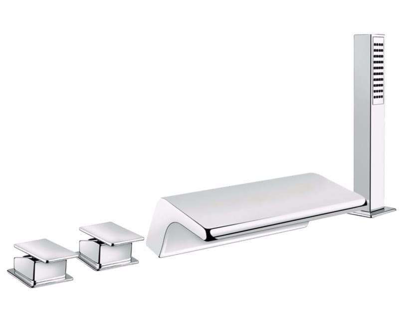 4 hole bathtub set with hand shower PLAYONE 85 - 8548102 by Fir Italia