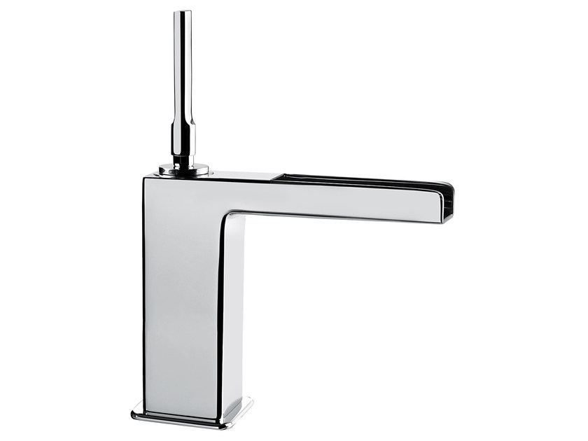 Countertop single handle washbasin mixer without waste PLAYONE JK 86 - 8615032 by Fir Italia