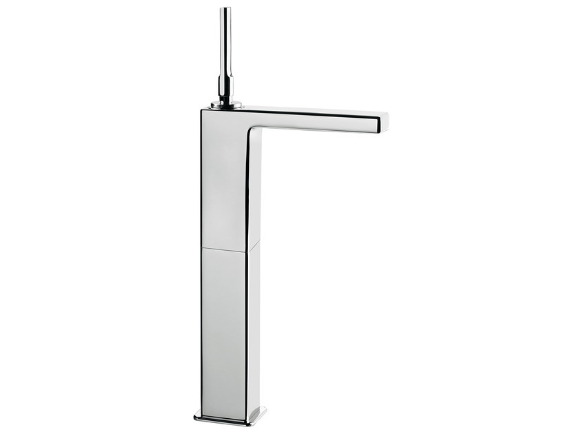 Countertop single handle washbasin mixer without waste PLAYONE JK 86 - 8615042 by Fir Italia