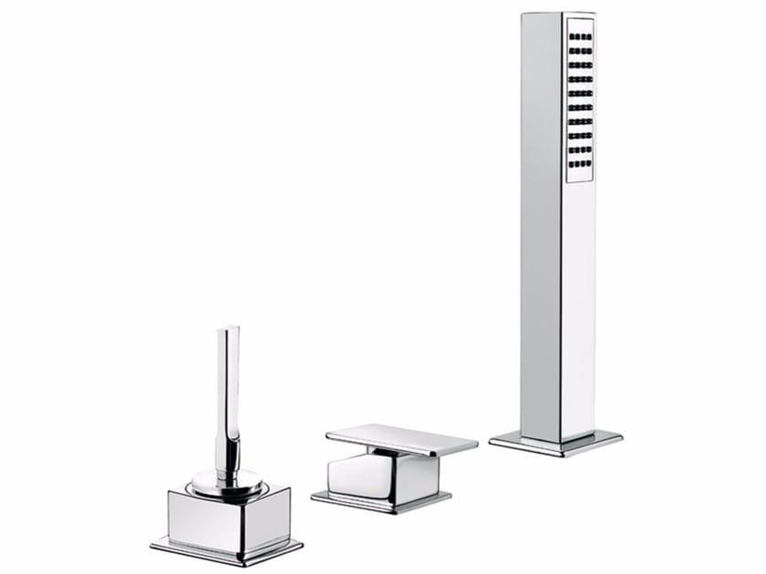 3 hole bathtub set with hand shower PLAYONE JK 86 - 8648412 by Fir Italia