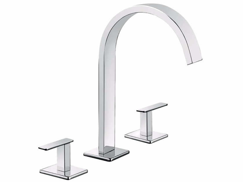 3 hole countertop washbasin tap PLAYONE MINUS 38 - 3812515 by Fir Italia