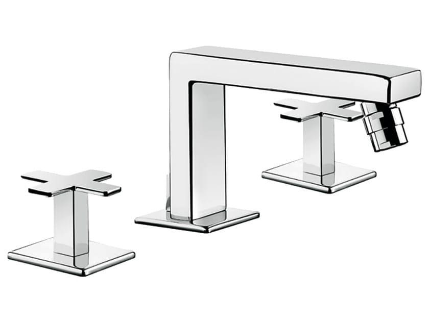 3 hole countertop bidet tap PLAYONE PLUS 37 - 3723505 by Fir Italia