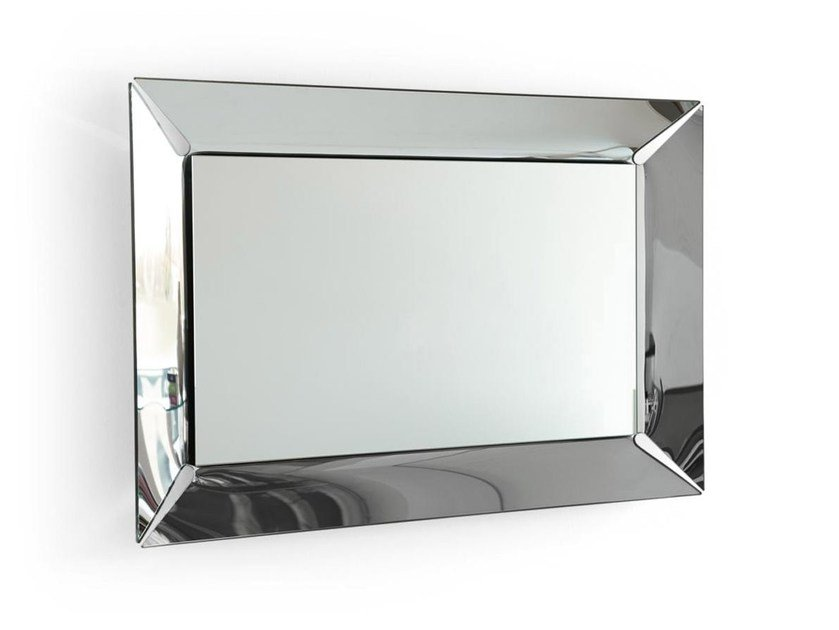 Rectangular wall-mounted mirror PLEASURE | Wall-mounted mirror by Calligaris