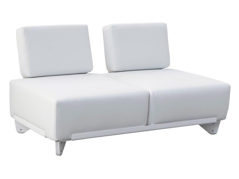 Modular Silvertex garden sofa PLECS RELAX | Garden sofa by calma