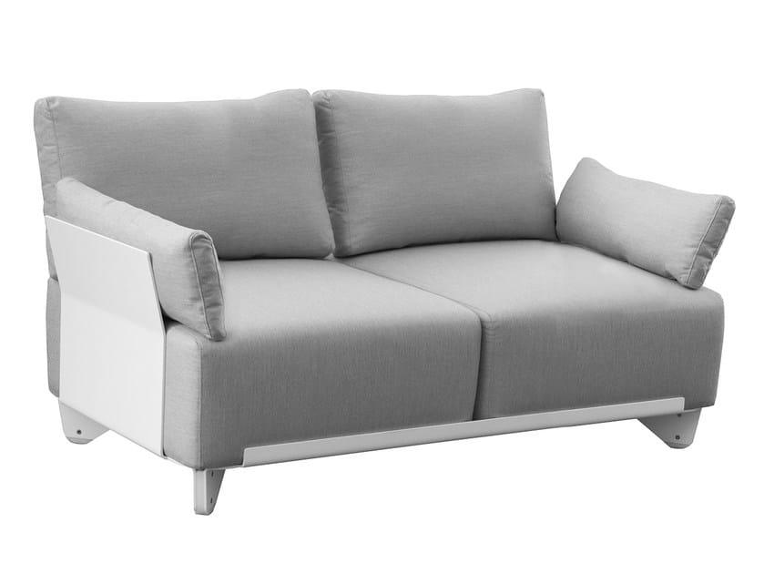 2 seater Sunbrella® garden sofa PLECS SOFT | Garden sofa by calma