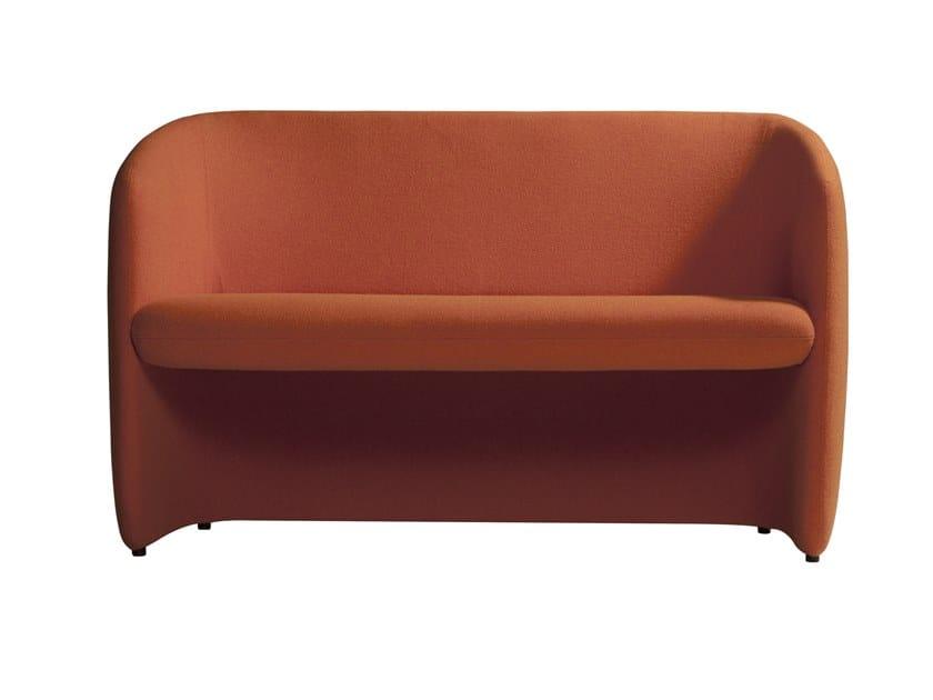 Fabric Small Sofa Plum 560s