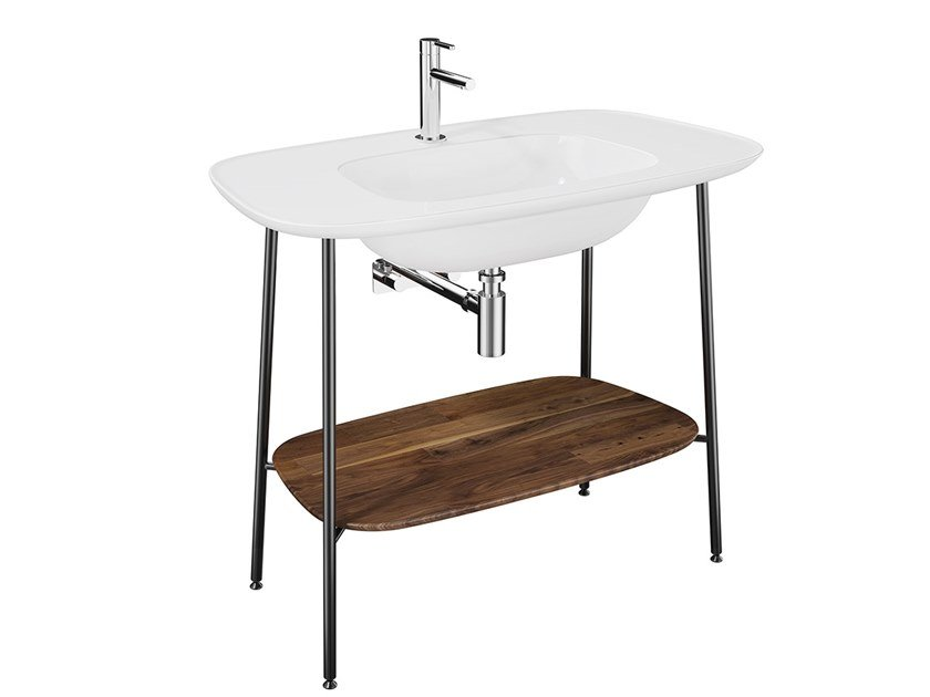 Console ceramic washbasin PLURAL | Console washbasin by VitrA Bathrooms