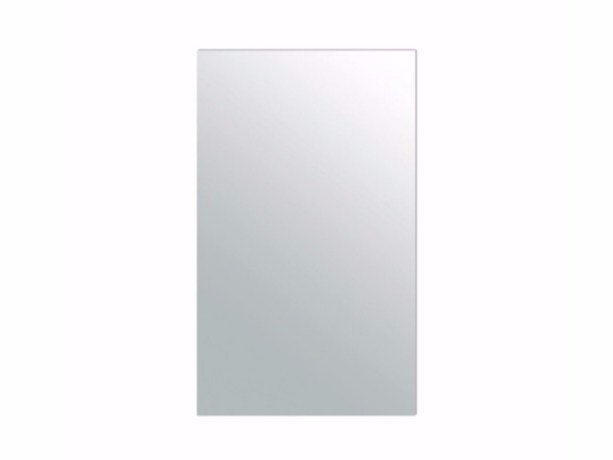 Rectangular wall-mounted bathroom mirror PLUS DESIGN 60 X 100 | Mirror by GALASSIA