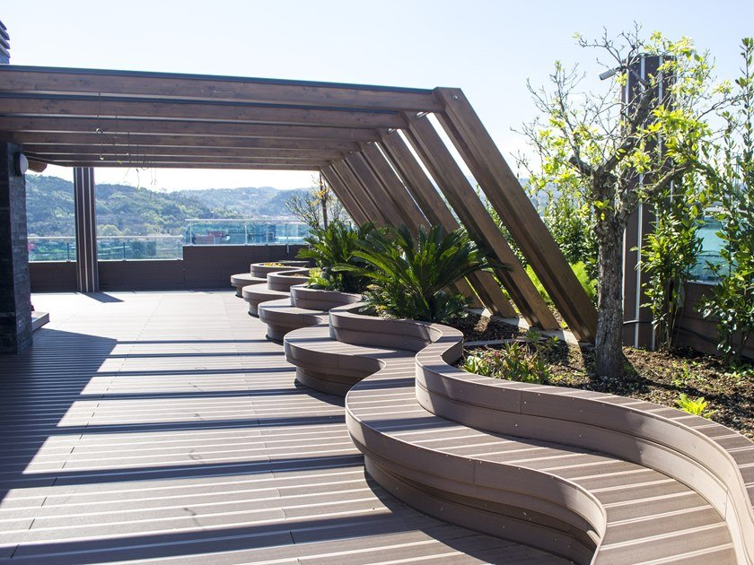 WPC decking Profile 140x21 by Felli