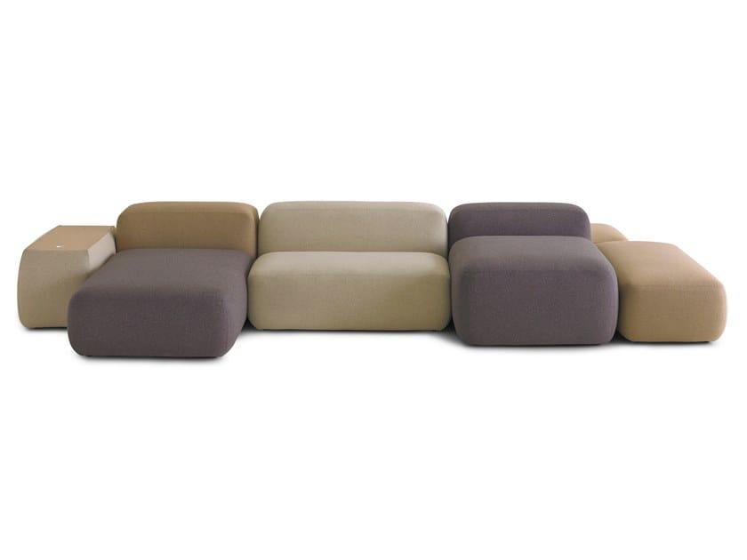 PLUS | Sofa mit Récamiere