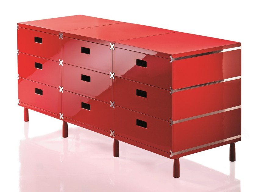 ABS chest of drawers PLUS UNIT by Magis