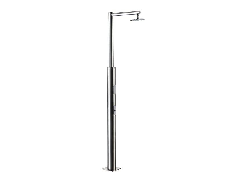 Doccia esterna in acciaio inox con fotocellula PLUTONE   Doccia esterna con fotocellula by Ama Luxury Shower