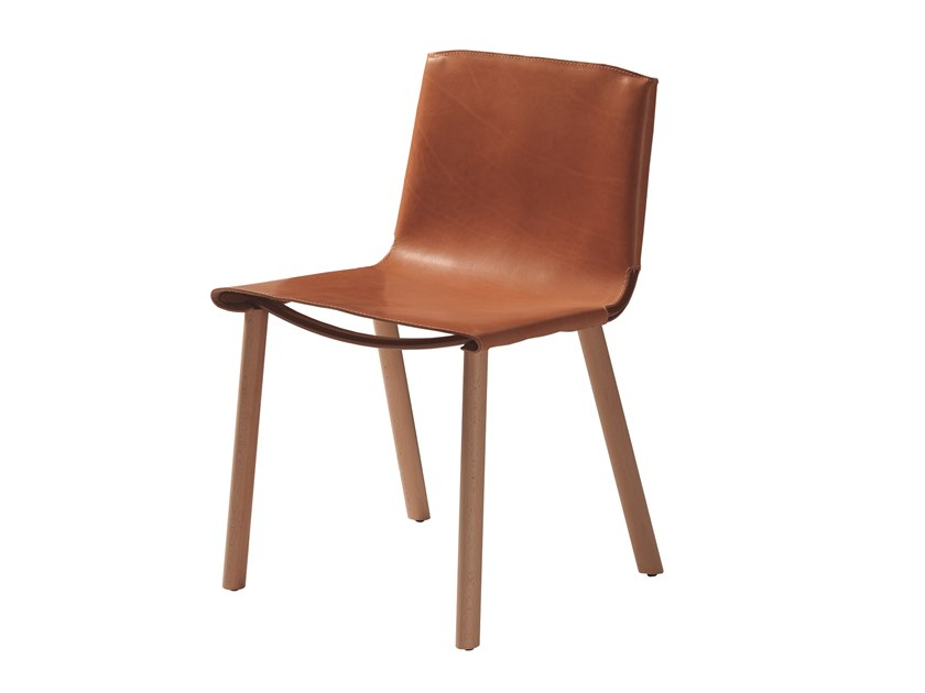 Leather chair PLY 471V by Capdell