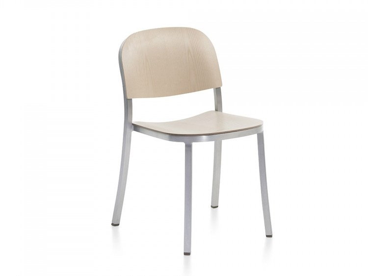 Stackable plywood chair 1 INCH | Plywood chair by Emeco
