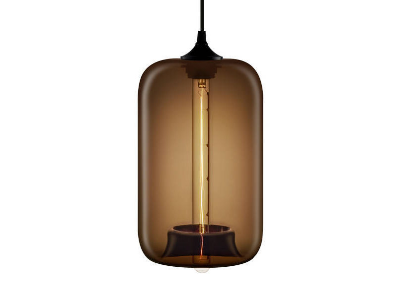 LED handmade blown glass pendant lamp POD | Pendant lamp by Niche Modern