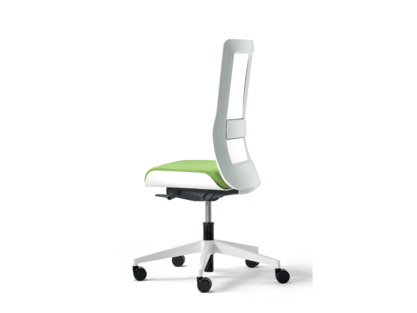 Swivel fabric task chair with 5-Spoke base with casters POI | Task chair by Wiesner-Hager