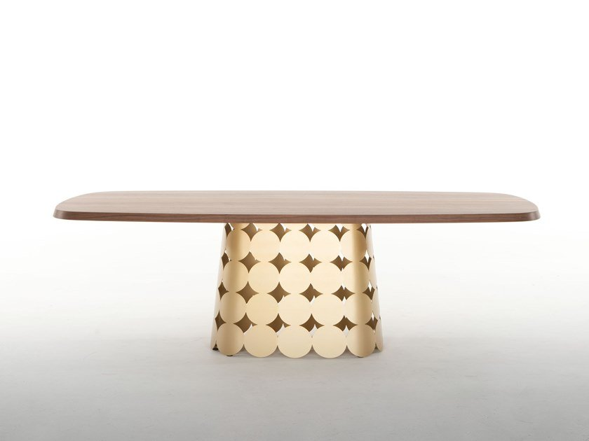 Rectangular table POIS | Rectangular table by Tonin Casa