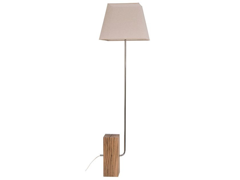 Wooden floor lamp POLA | Floor lamp by Flam & Luce