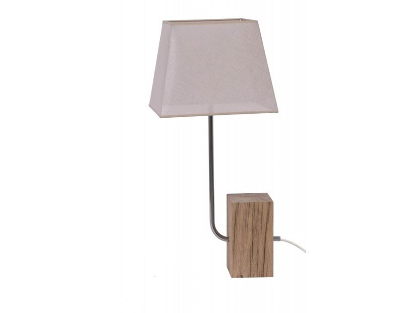 Wooden table lamp POLA | Table lamp by Flam & Luce