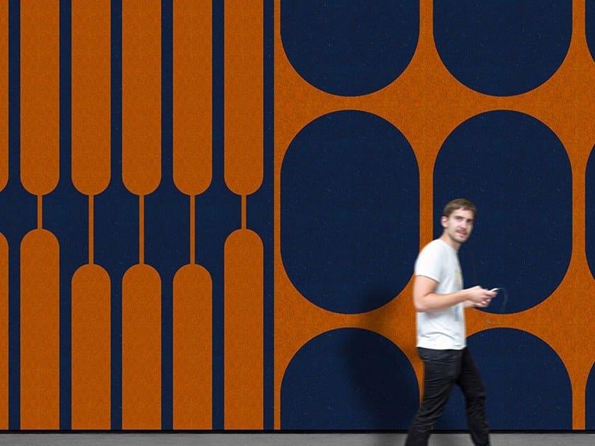 Decorative acoustic panel POLAR by Slalom
