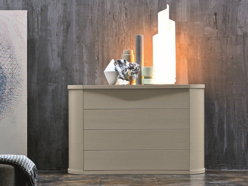 Melamine-faced chipboard chest of drawers POLARIS | Chest of drawers by Febal Casa