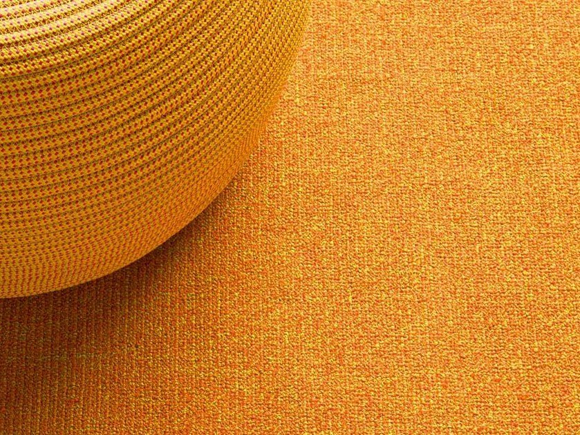 Solid-color rug POLICROMO DOUBLE by paola lenti