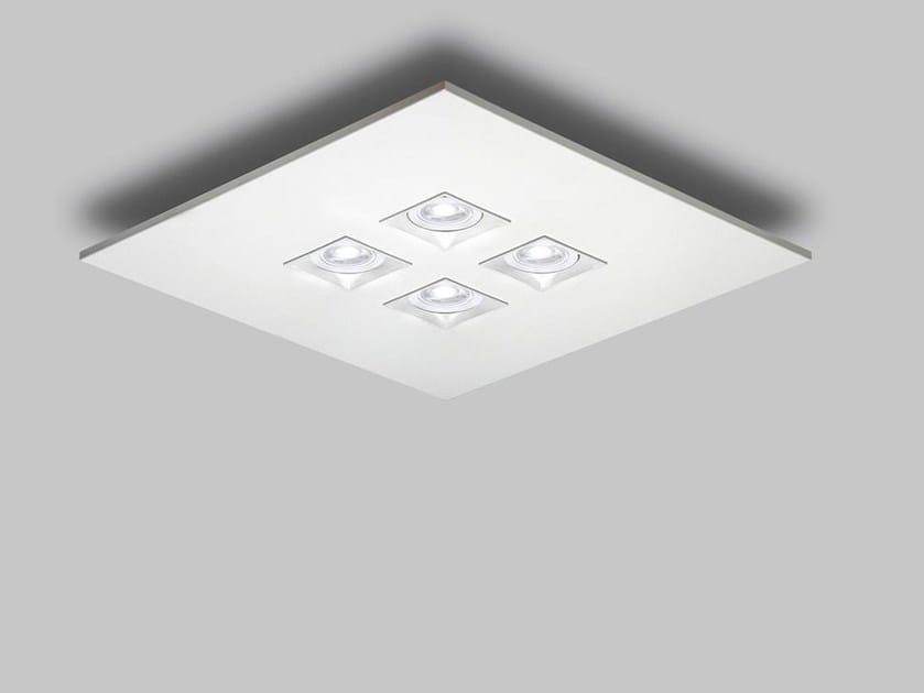 LED metal ceiling light POLIFEMO 4035 by Milan Iluminacion