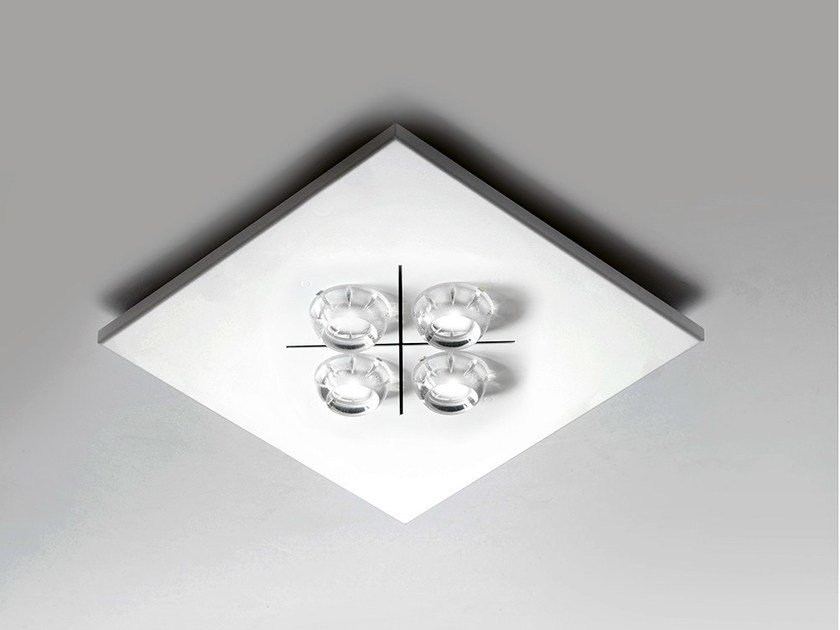 LED direct light ceiling light POLIFEMO LED / 6316 by Milan Iluminación