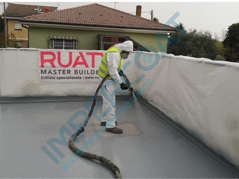 Liquid waterproofing membrane IMPERCOAT POLIUREA SPRAY - FL by Impercoat
