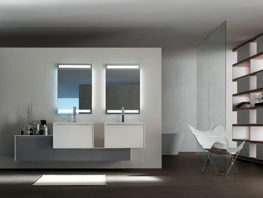 Sistema bagno componibile POLLOCK - COMPOSIZIONE 35 by Arcom