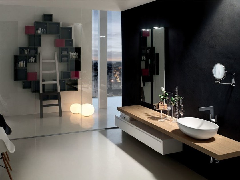 Bathroom cabinet / vanity unit POLLOCK - COMPOSITION 38 by Arcom