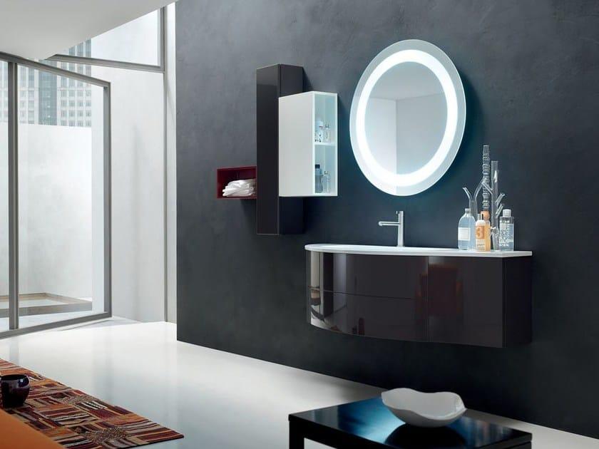 Sistema bagno componibile POLLOCK - COMPOSIZIONE 40 - Arcom