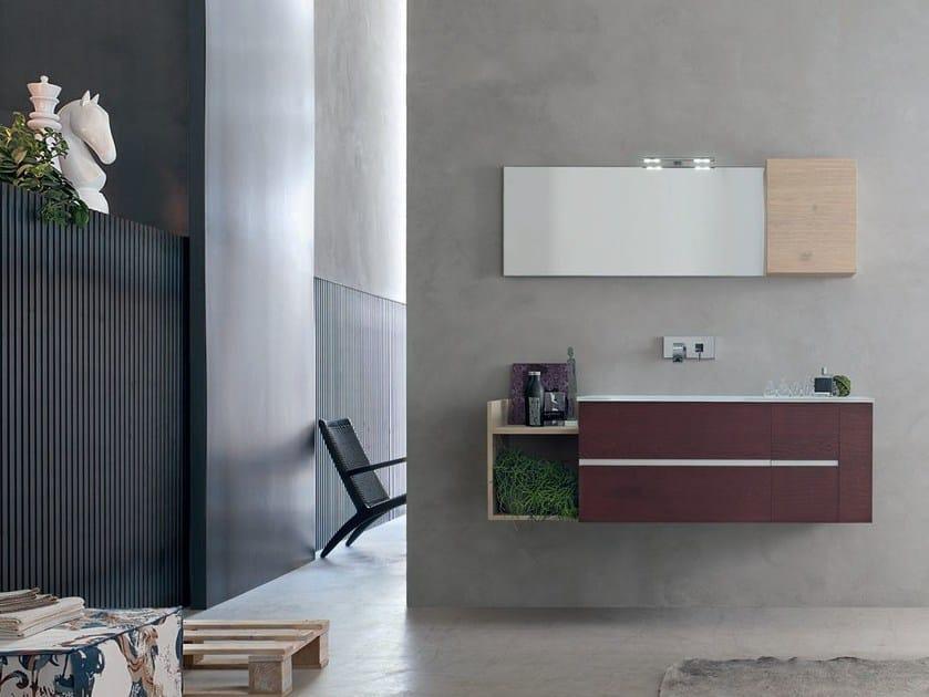 Sistema bagno componibile POLLOCK YAPO - COMPOSIZIONE 42 by Arcom
