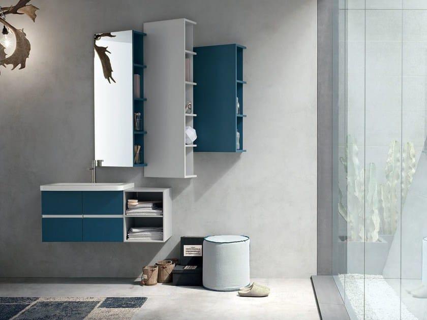 Sistema bagno componibile POLLOCK YAPO - COMPOSIZIONE 52 by Arcom
