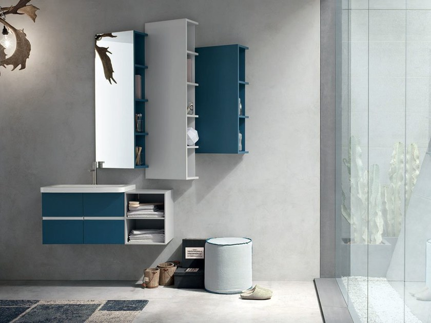 Bathroom cabinet / vanity unit POLLOCK YAPO - COMPOSITION 52 by Arcom