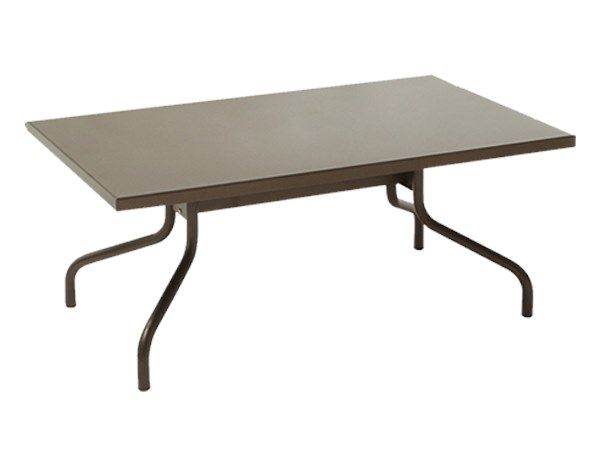 Rectangular metal coffee table POLO | Coffee table by RD Italia