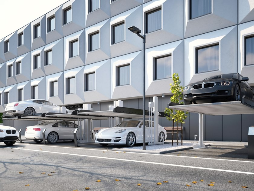 Automatic parking systems POLO by Modulo Parking