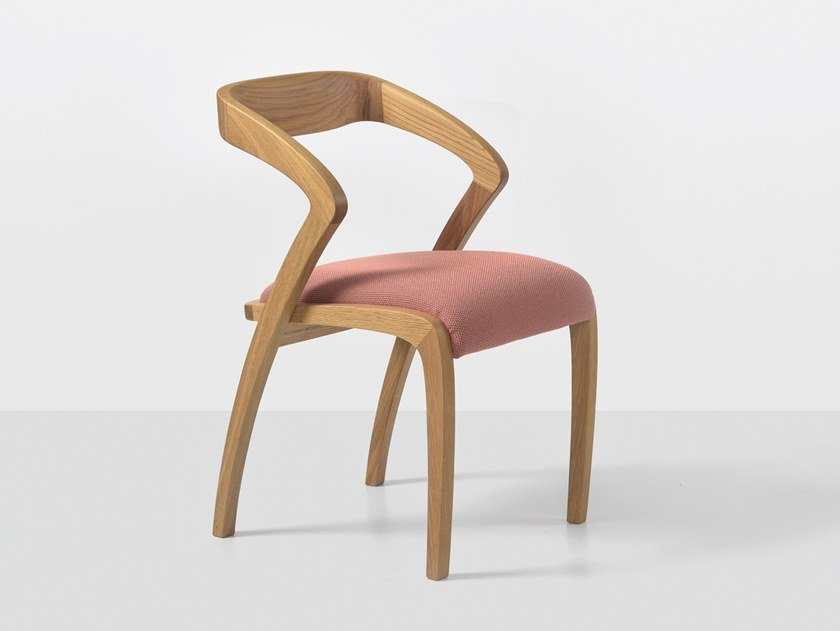 Oak chair with armrests POLY   Oak chair by Hemonides