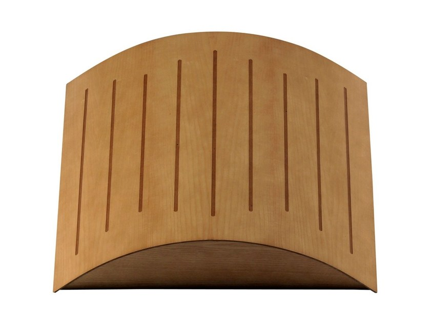 MDF decorative acoustical panel POLY WOOD FUSER by Vicoustic by Exhibo