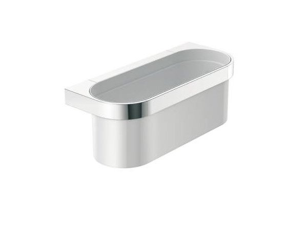 Wall-mounted polyamide soap dish for shower SYSTEM 800 | Soap dish for shower by HEWI