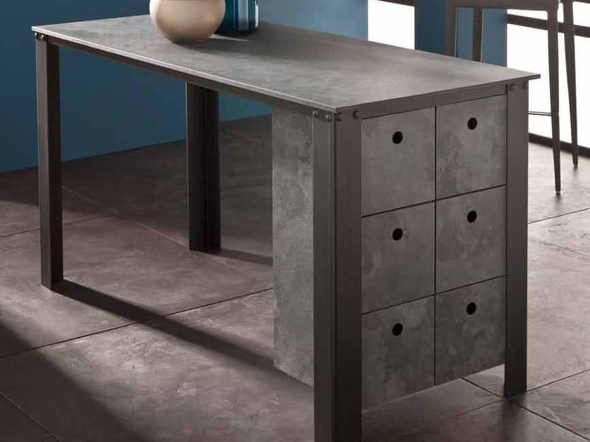 HPL kitchen worktop / furniture foil POLYFORM® ROCHE by Polyrey