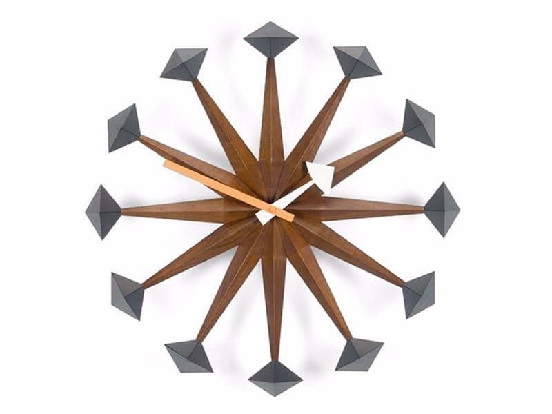 Wall-mounted clock POLYGON CLOCK by Vitra