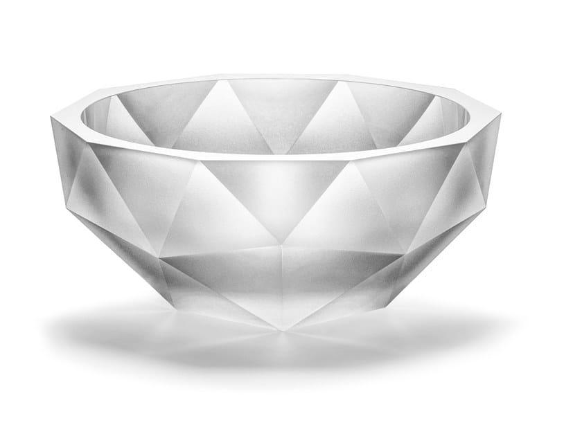 Glass bowl POLYGON   Bowl by Lasvit