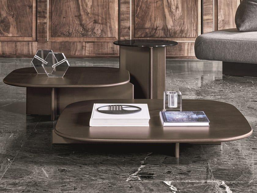 Tavolino quadrato in legno POLYURA | Tavolino quadrato by Ditre Italia