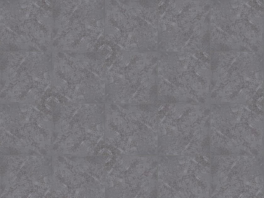 Porcelain stoneware outdoor floor tiles with stone effect POMPEI ANTRAZYT by GRANULATI ZANDOBBIO
