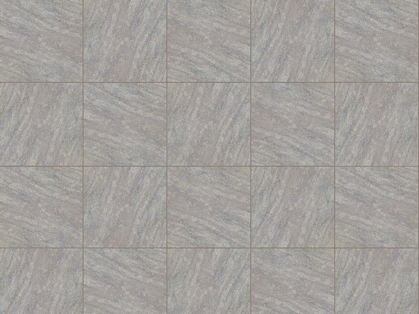 Porcelain stoneware outdoor floor tiles with stone effect POMPEI GRIGIO by GRANULATI ZANDOBBIO