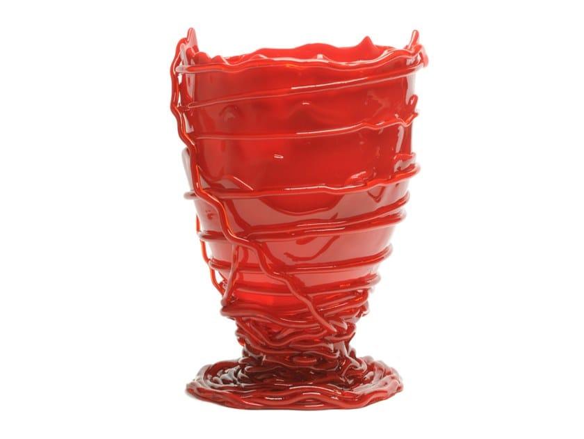 Resin vase POMPITU II by Corsi Design