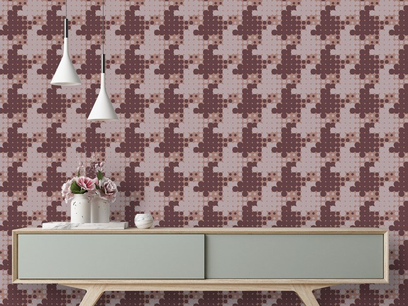 Motif washable wallpaper POOLSIDE by Baboon